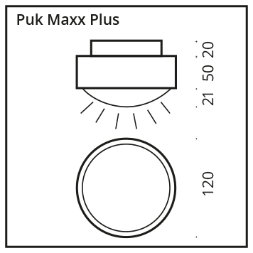 Deckenleuchte Puk Maxx Plus LED