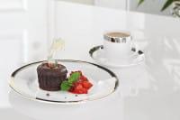 Fink Living Espressotasse Platinum mit Unterteller - Ambiente