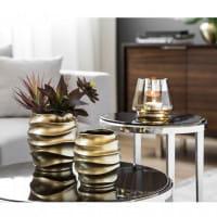 Fink Living Vase/Übertopf Fabia - Gold, Ambiente
