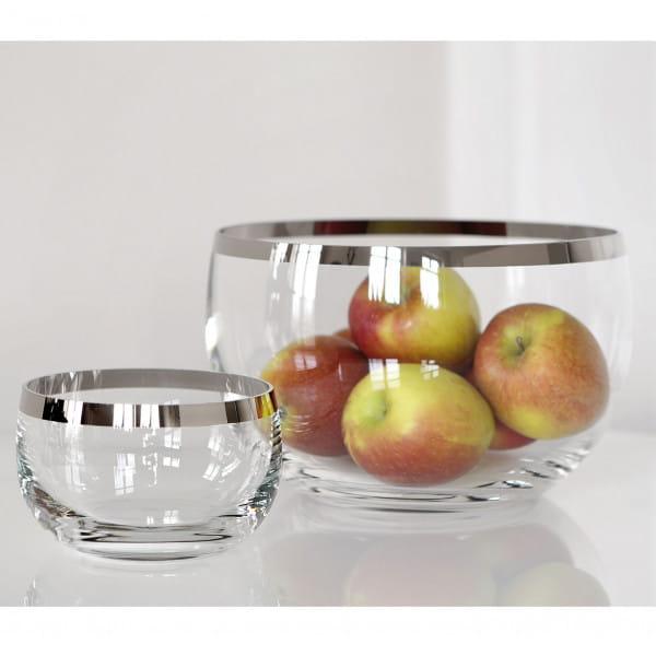 Fink Living Glas-Schale Platinum - Ambiente