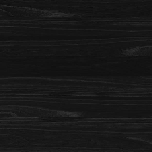 Ulme lackiert - Schwarz matt