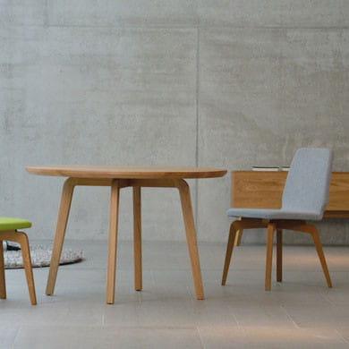 Jan Kurtz runder Esstisch Dweller Eiche massiv skandiniavisches Design