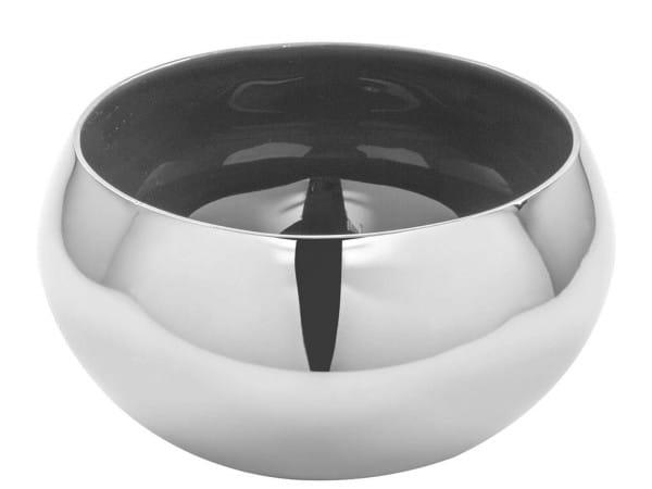 Fink Living Schale Mayla - Grau / Silber, 16,5 cm Durchmesser