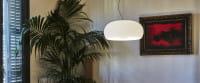 marset Pendelleuchte LED Vetra Weiß Ambiente Pflanze mit Bild
