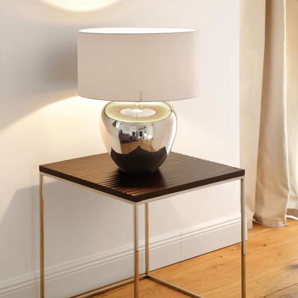 Fink Living Tischlampe Losone - Weiß, Ambiente