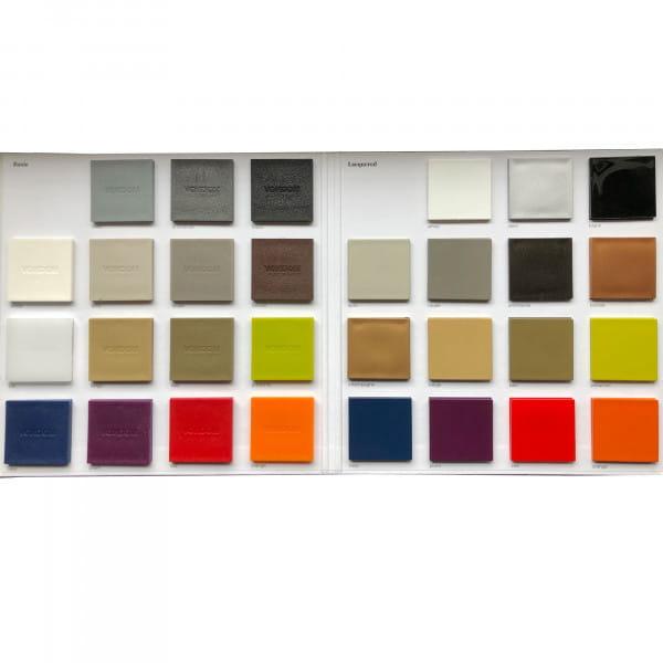 Kunststoff Musterkarte (zur Ansicht)