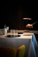 marset Tischleuchten LED Ginger 20 M Ambiente Eiche Restaurant positionierbar