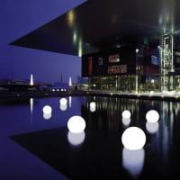 Moonlight MWV Schwimmleuchte Ambiente Moderne Architektur Nacht