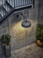 Soho 38 A LED (Outdoor IP44) Steingrau Ambiente 2