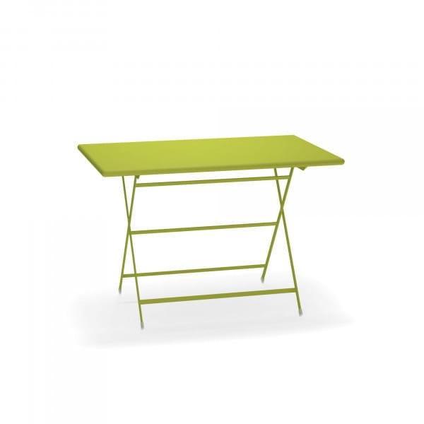 emu Arc en Ciel Gartentisch 70 x 110 cm - 60 Grün - seitlich
