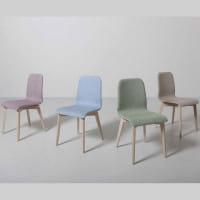 Italienischer Design Stuhl Cesene Wood