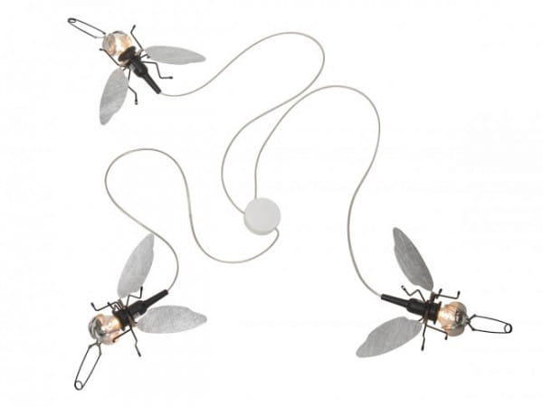 Deckenleuchte / Wandleuchte Famille Filou (3 Fliegen)