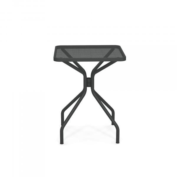 emu Gartentisch 60x60 - 22 Antikeisen - seitlich