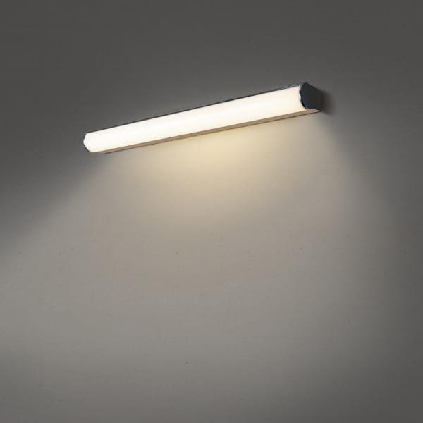 MARYLIN, LED Indoor Wandaufbauleuchte Chrom, IP44, 3000K, 15W, 1.290 Lumen Länge: 60 cm