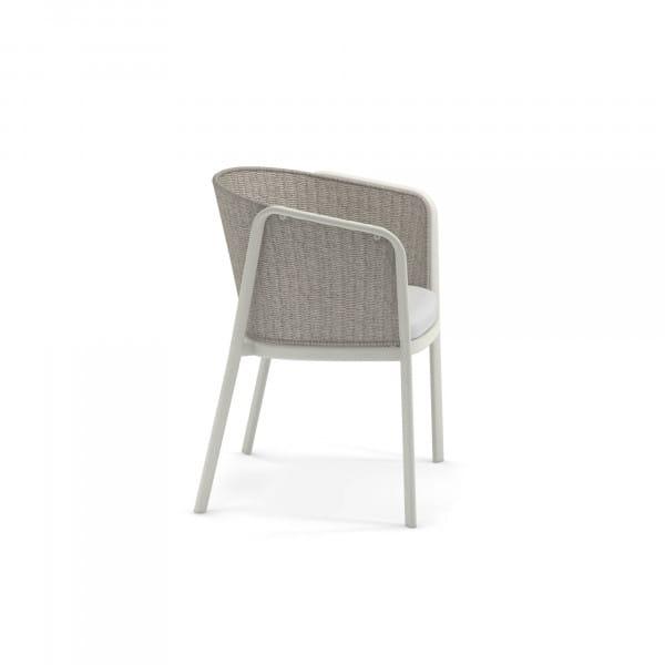 emu Carousel Armlehnstuhl - 23-12 Weiß - Elfenbein Melange - seitlich