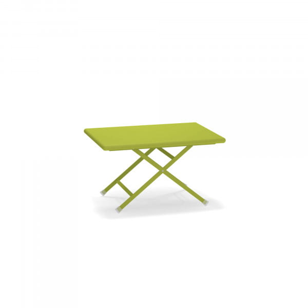 emu Arc en Ciel Gartentisch niedrig - 60 Grün - seitlich