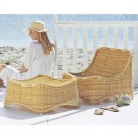 Sika Design Exterior Loungesessel Chill aus Alu Rattan