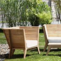 Jan Kurtz Teakholz Beistelltisch William Lounge Gartenmöbel