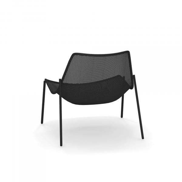 emu Outdoor Loungesessel Round - 24 Schwarz