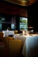 marset Tischleuchten LED Ginger 20 M Ambiente Restaurant Tisch Übersicht