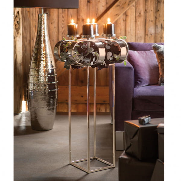 Fink Living Ständer für Deko-Kranz Gorden 49 cm, Ambiente