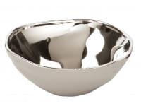 Fink Living Schale Conca - Greige / Silber, 16 cm Durchmesser