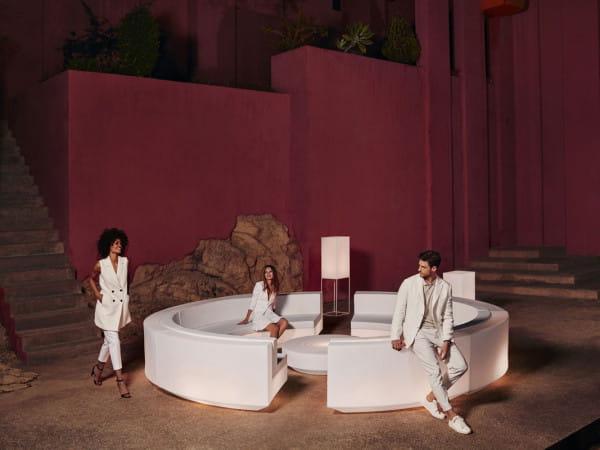 Vela Sofa-Kombination 4 - beleuchtet