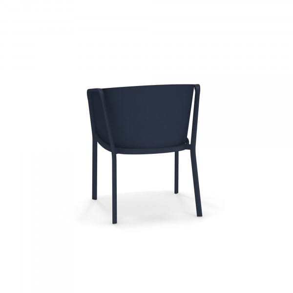 emu Carousel Armlehnstuhl - 48-500/29 Dunkelblau - Blau - hinten