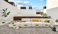 MIAMI Outdoor Sofa 3-Sitzer