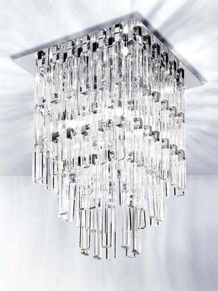 Micron Kristall Deckenleuchte Milady 60x60cm