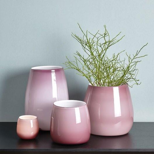 Windlicht Vase Pisano von Lambert verschiedene Größen - Malve