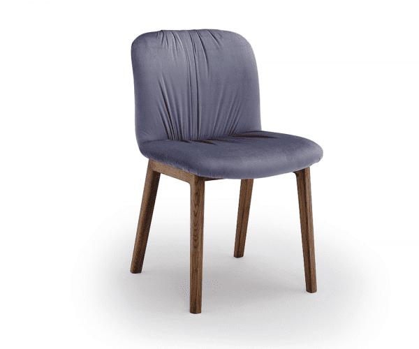Italienischer Design Stuhl Udine - Wood