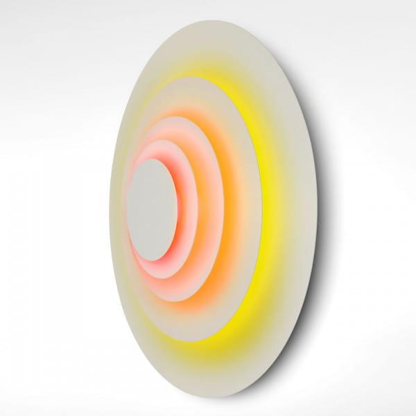 marset Wandleuchte LED Concentric Corona L Seitenansicht