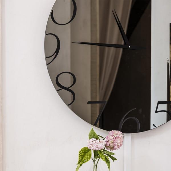 Spiegel-Uhr Moment