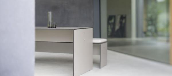 conmoto Design Esstisch Riva Taupe