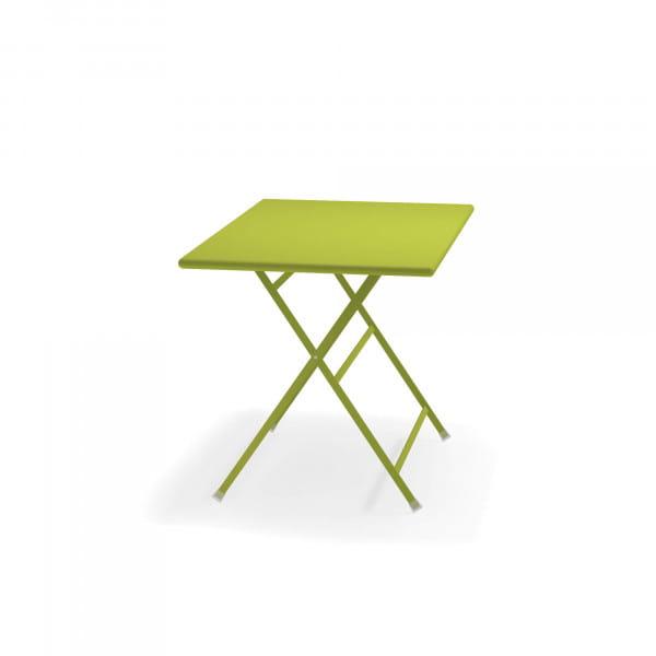 emu Arc en Ciel Gartentisch 70 x 110 cm - 60 Grün - von hinten