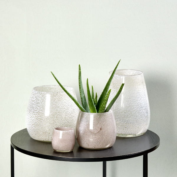 Windlicht Vase Porano von Lambert Magnolie