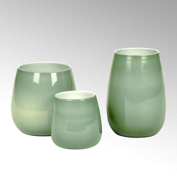 Vase Pisano von Lambert verschiedene Größen - Jade