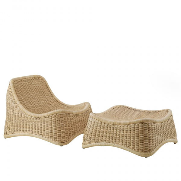 Sika Design Icons Loungesessel Chill aus Rattan