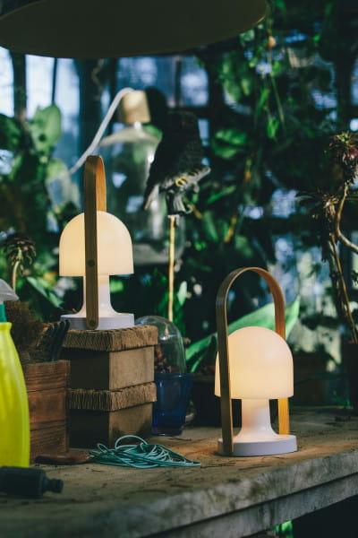 marset Tischleuchte LED FollowMe Ambiente Gartenhaus