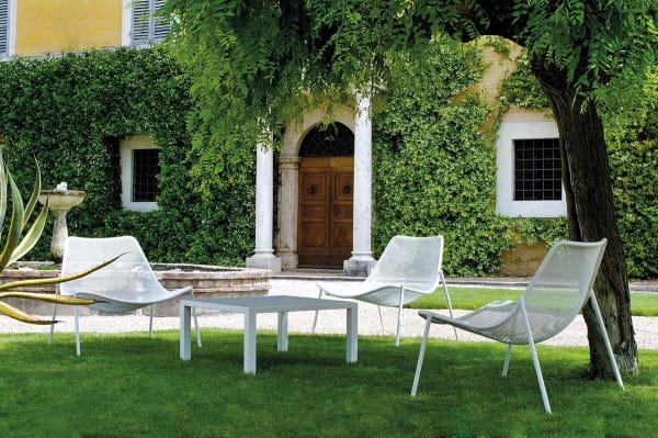 emu Outdoor Loungesessel Round - Ambiente Beispiel  - Weiß