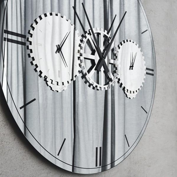 Spiegel-Uhr Times