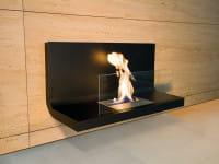 Ethanolkamin Wall Flame 1 Schwarz