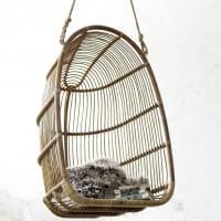 Sika Design Originals Hängesessel Renoir Rattan Antik