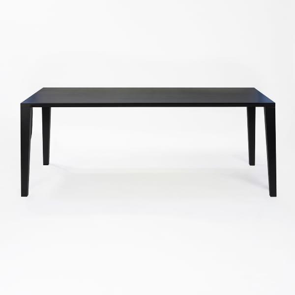 Eiche gebeizt Schwarz Aracol Tisch
