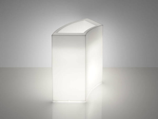 Beleuchtete Theke Ice Bar