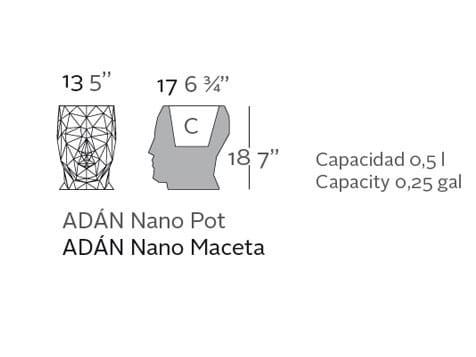 Blumentopf Adan Nano