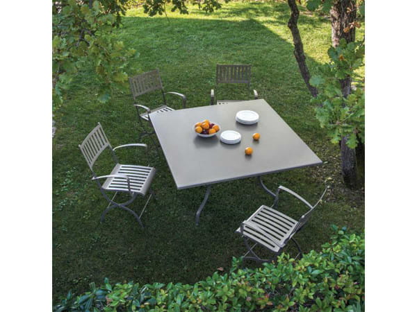 Gartentisch Elisir - quadratisch