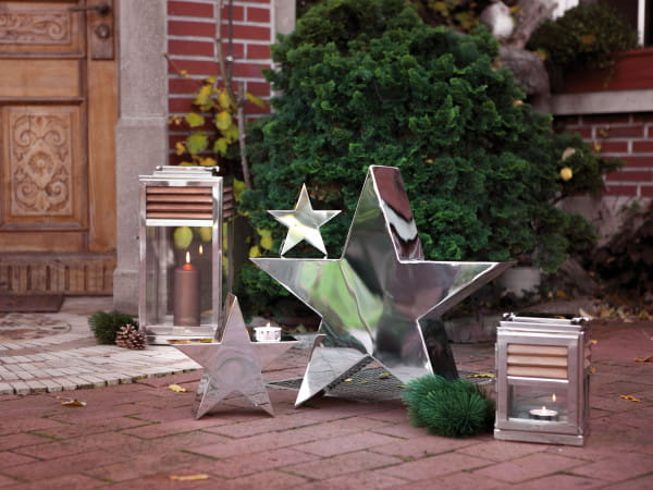 Fink Living großer Deko-Stern Reva - Ambiente, Outdoor