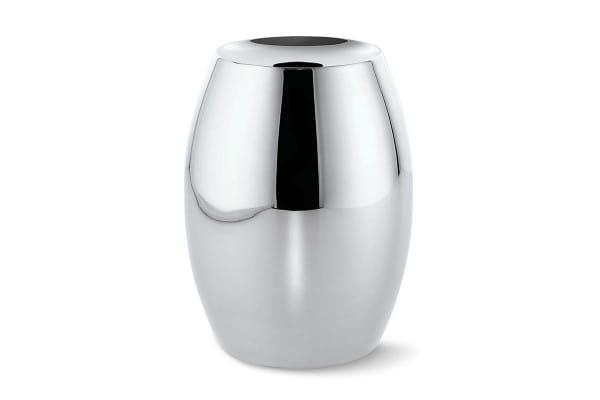 Philippi Vase Dot aus hochglanzpoliertem Edelstahl - 26 cm Höhe